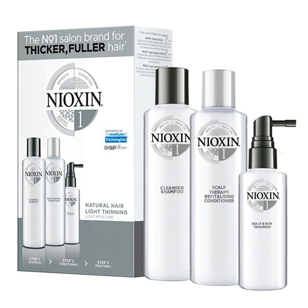 Nioxin 3-Part Trial Kit Systems 1